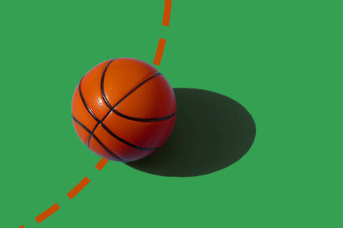 Studio shot of basketball - ERRF04293