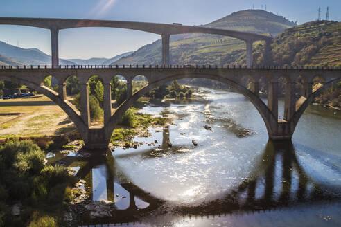 Portugal,Porto District, Porto, Bridges over Douro river - NGF00639