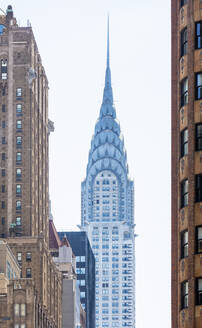 USA, New York, New York City, Chrysler Building - AHF00081