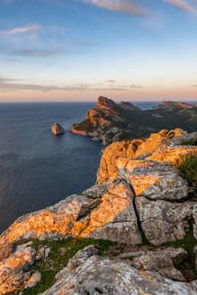 Cap de Formentor headland at dusk - EGBF00581