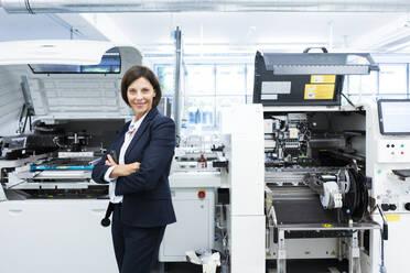 Deutschland, NRW, Oberhausen, Business, Industrie, Medizin, Forschung, Hitech, Frau, 55 Jahre, - JOSEF03692