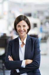 Deutschland, NRW, Oberhausen, Business, Industrie, Medizin, Forschung, Hitech, Frau, 55 Jahre, - JOSEF03698