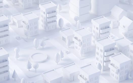 Paper White 3D City - JPSF00077
