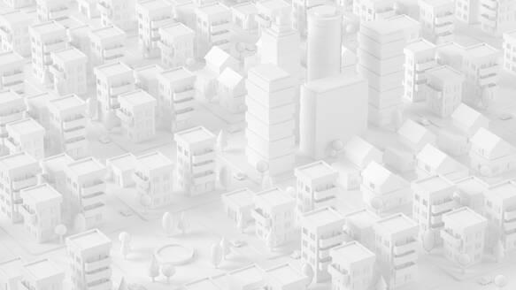 Paper White 3D City - JPSF00083