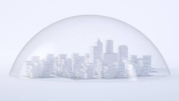 Paper White 3D City - JPSF00086