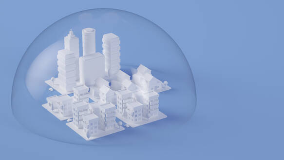 Paper White 3D City - JPSF00092
